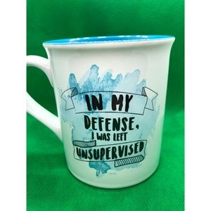 Other - Coffee Mug - In My Defense I Was Left Unsupervised